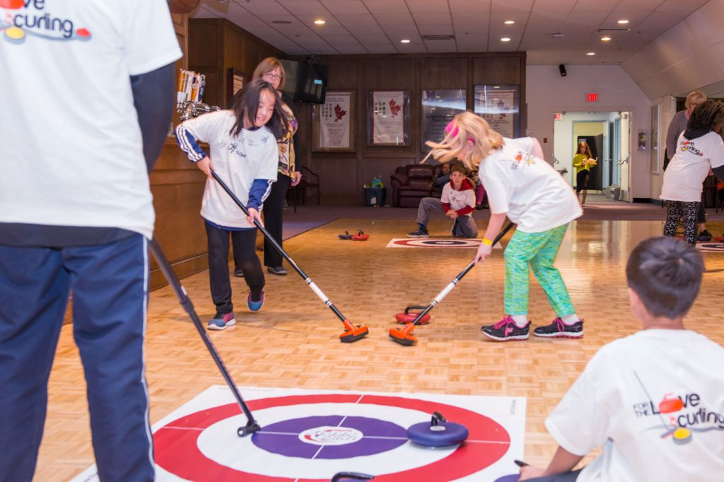 Image result for floor curling pics