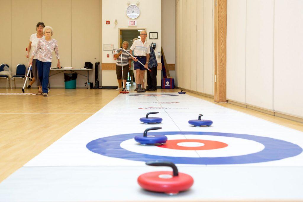 floorcurl activities for senior centers